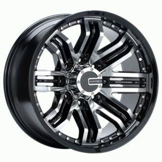 Chevy Suburban Tahoe Titan QX4 18 Wheels Rims Mamba M3