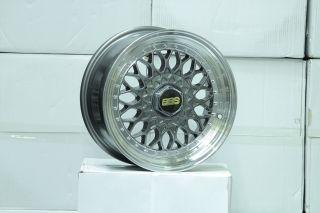 15 RS Style Wheels Rims 4x100 4x114 VW SCION xB Toyota Celica MR2 Golf