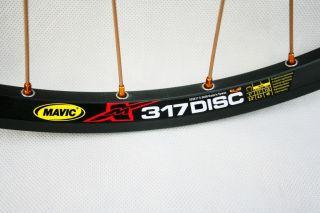Mavic 317 MTB Disc Wheelset F R Rival KDF R 5 Hub Pillar SR Spoke
