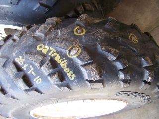 Blazer Sport Front Rims Wheels Tires 250 400 325 2002 02 01