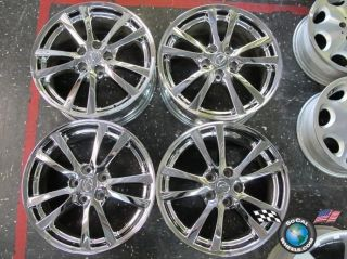 08 Lexus IS250 is350 Factory 18 Chrome Wheels Rims 74189 74214