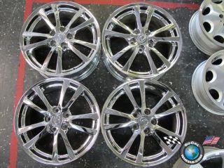 08 Lexus IS250 is350 Factory 18 Chrome Wheels Rims 74189 74214