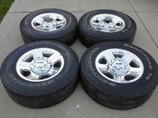2007 Ford Superduty F 250 F 350 18 Aluminum Wheels Tires Caps Lugs