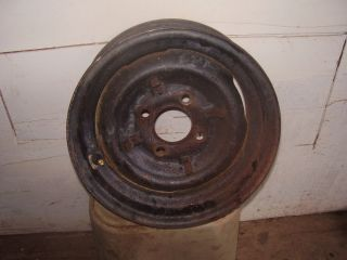 1965 Skamper Pop Up camper Original Wheel Spare Tire Rim