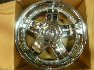 20x8 5 Gino Chrome Wheels 6 Lug 20 Rims
