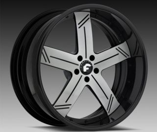 24 inch Forgiato Linee Charger 300 Magnum Wheels Rims