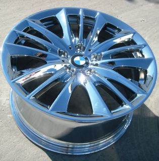 19 FACTORY BMW 550xi 528i 535i 550i OEM CHROME WHEELS RIMS STYLE 332