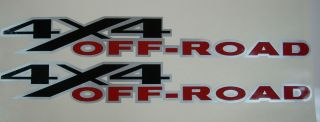4X4 DODGE Off Road Decal Stickers 4x4 Truck Decals Ram Big Horn Set