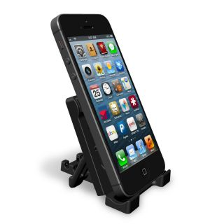 Universal Mobile Phone Stand Black Fits All Smart Phones