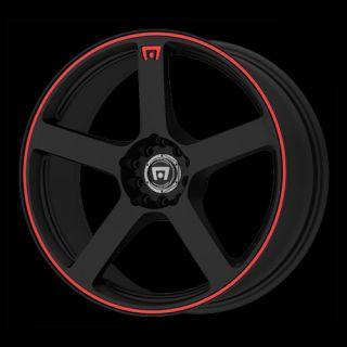 16 x7 Motegi MR116 116 Black Wheels Rims 4 5 Lug