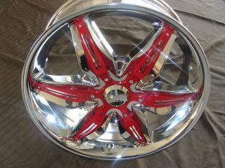 Wheels Rims Akuza Road Concepts Rissa Model 824 18 Chrome Wheels