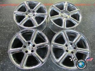 Four 03 05 Nissan 350Z Factory 18 Chrome Wheels Rims 62416