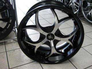 22 Hipnotic Venom Rim Tire Mercedes Benz BMW Lexus Lexani asanti Dub