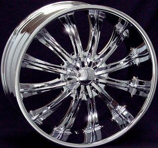 26 inch B15 Chrome Wheel Chrysler 300C Dodge Challenger
