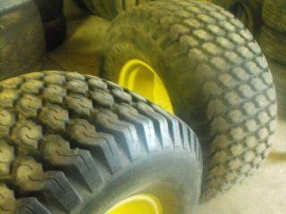 Goodyear Softrac Turf Tire on 8 Lug JD Rim AG Tire Farm Tractor