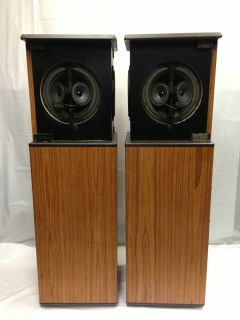 Bose 10 2 Series II Floor Standing Speakers Pair Good Condition No