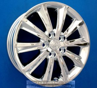 ULTRA LUXURY 17 INCH CHROME WHEELS RIMS ES300 ES330 ES 300 330 350