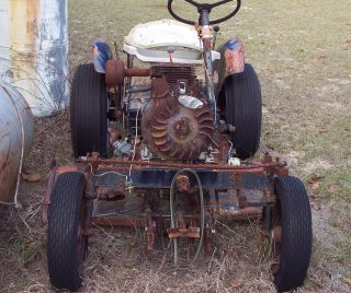 Power King Economy Tractor 1959 Parts