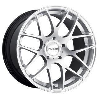 Garde M310 Ruger Mesh 19 inch Wheels Porsche Cayenne Hyper Silver