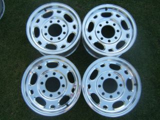 Chevy GMC 16 OEM Alloy 8 Lug Wheels Rims HD 2500 3500 Silverado Sierra