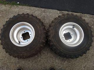 YFZ450 YFZ 450 Raptor 660 700 Rear Wheels Rims Tires H