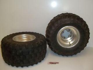 Honda TRX400EX Rear Tires and Wheels 1999 TRX 400EX H3