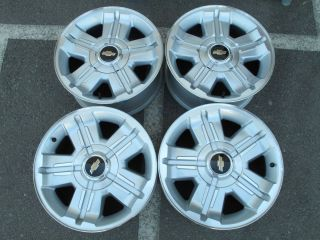 Chevy 1500 Silverado Tahoe 18 Factory Alloy 6 Lug Wheels Set 4