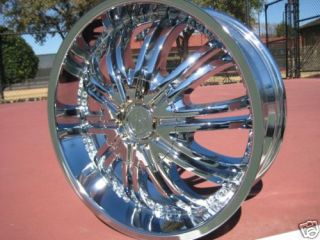 18 Chrome Wheels Rim Ford Explorer Ranger Jeep Wrangler