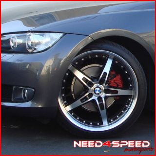19 BMW E90 328 335 MRR GT5 Staggered Wheels Rims