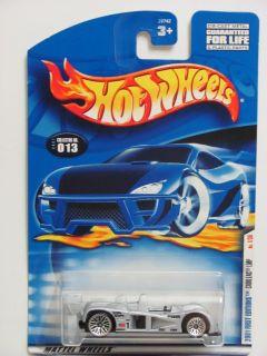 Hot Wheels 2001 First Editons Cadillac LMP 013 Silver