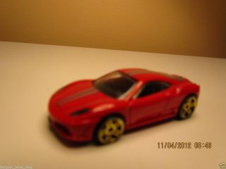 Hot Wheels Die Cast Red Ferrari 430 Scudera New Loose