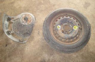BMW Z3 318TI Space Saver Spare Wheel w Tire 99 00 E46 323i 323IT Used