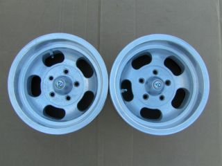 14x8 5 SLOT MAG WHEELS GM 4 75 CHEVY PONTIAC OLDS BUICK MAGS GASSER