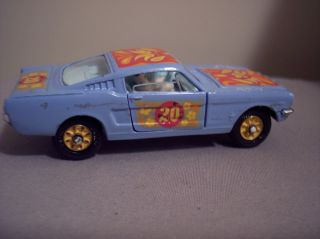 Corgi 348 Psychedelic Ford Mustang 1968 Customized