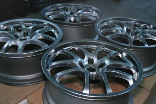 G35 2005 2007 19 Forged Rays Eng Factory Stock Wheel Rim Set