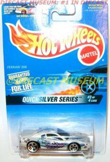 Ferrari 308 Quicksilver Series Mattel Hot Wheels HW Diecast