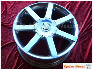 18 Cadillac XLR Polished Factory Wheel Rim 4576
