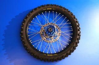 450 250 Front Wheel Tire Rim Talon Hub Excel Takasago Rim Nice