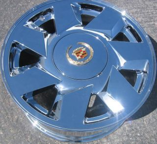 New 17 Cadillac DeVille DTS Chrome Wheel Rim