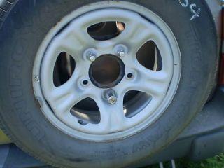 03 Chevrolet Tracker Steel Wheel Rim 15 01 04