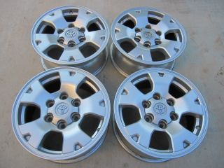 07 08 09 10 16 Toyota Tacoma factory OEM alloy wheels rims 16 set of 4
