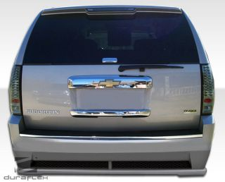 2012 Chevy Suburban Duraflex Hot Wheels Rear Bumper Body Kit