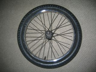 BMX Rear Double Wall Rim with 9 Tooth Driver All SEALED