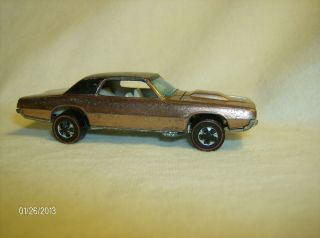 old vintage rare 1968 Hot Wheels Redline Custom T Bird Ford
