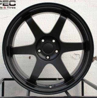 19x9 5 11 Varrstoen ES222 5x114 3 Black Wheel Fit Nissan 240sx s14 S15