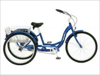 Scratch Dent Blue Schwinn Meridian 26 Adult Tricycle