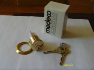 Medeco Rim Cylinder Locksmith High Security Lock