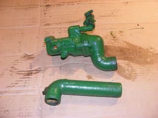 John Deere 1010 Diesel Water Outlets Pipes John 404 569 3093
