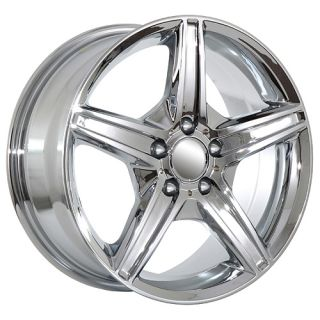 C350 C500 2012 ML350 ML500 2012 S430 S500 S550 chrome amg wheels rims
