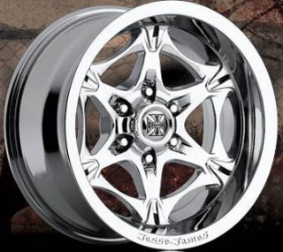 22x9 5 Lawless 6x135 Chrome One Single 35 Replacement Wheel Rim
